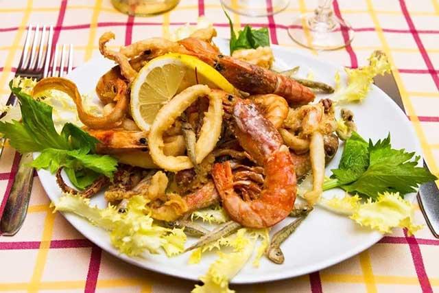 piatto fritto misto di pesce